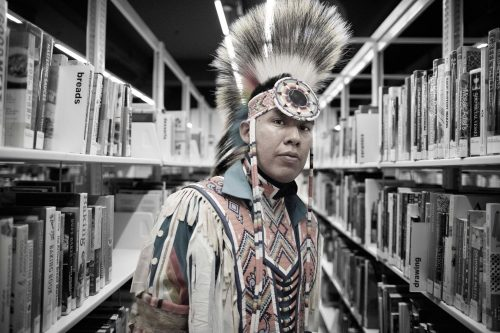 Influential Native American photographer launches Project 562