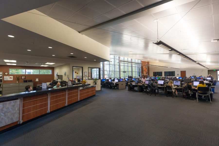 The virtual portion of the Learning Resource Center at American River College allows students to get free tutoring during off-campus learning in spring 2021. (Photo courtesy of Scott Crow)