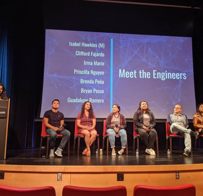 During the Society of Hispanic Professional Engineers' Noche de Ciencias, students and parents learn about the journey to become an engineer. (Photo from prior event courtesy of SHPE)