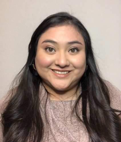 American River College fashion major Claudia Godinez hopes to one day own her own plus-sized clothing company to better serve customers.(Photo courtesy of American River College)