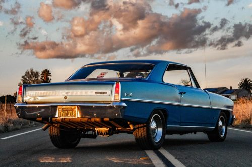 My 1967 Chevy Nova is essentially my first child, and I have loved every minute working on, writing about and taking pictures of this car. (Photo by Collin Andrews)