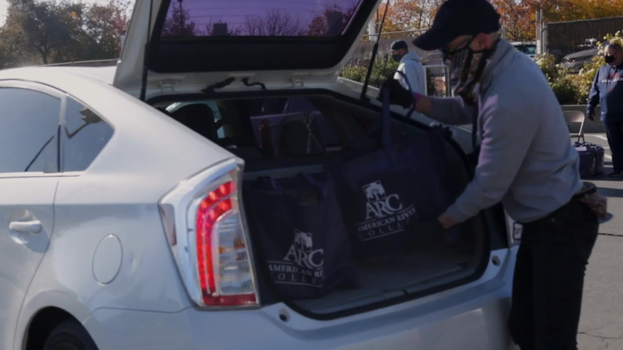 The Beaver Food Pantry at American River College, is a key resource for students with basic need insecurities and will re-open for the hybrid semester in Fall 2021. (Screenshot via the ARC website's Beaver Food Pantry video)