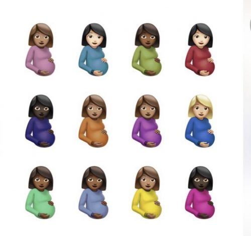 """Drakes album,""""Certified Lover Boy, features cover art depicting 12 emojis of pregnant women implying that Drake is indeed a """"Certified Lover Boy"""". (Photo courtesy of OVO and Republic records)"""