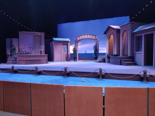 The American River College theatre department performs Comedy of Errors by William Shakespeare. The story follows Antipholus and Dromio of Syracuse travelling to Ephesus in search of their long lost twins. (Photo by Samuel Berg)