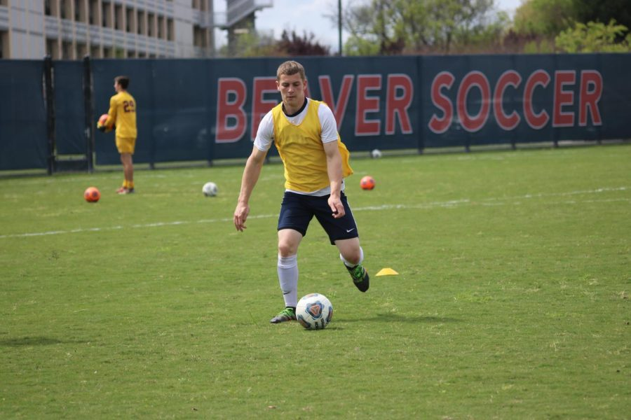 Paul Hansen, American River College's men's soccer coach says the team is grateful to be playing again this season in the fall semester of 2021. (File Photo)